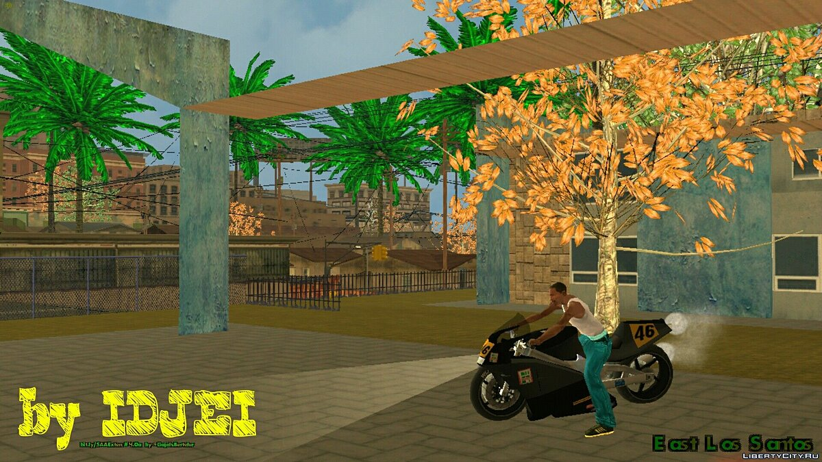 Noclip для GTA San Andreas (iOS, Android)
