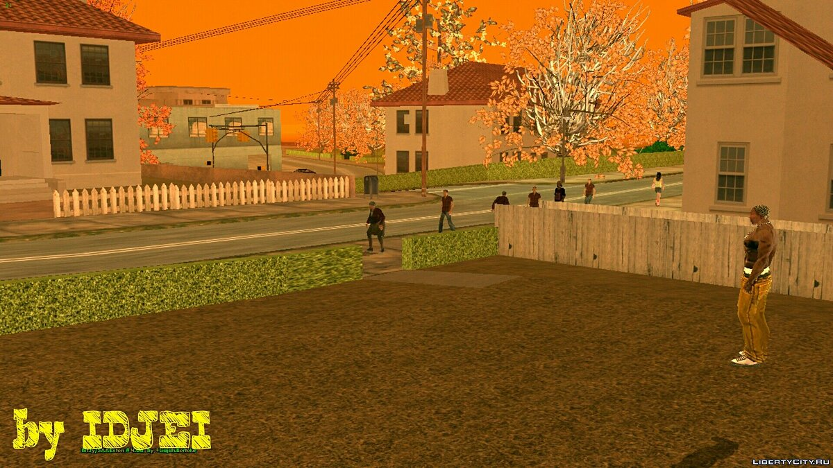 Noclip для GTA San Andreas (iOS, Android) - скриншот #4