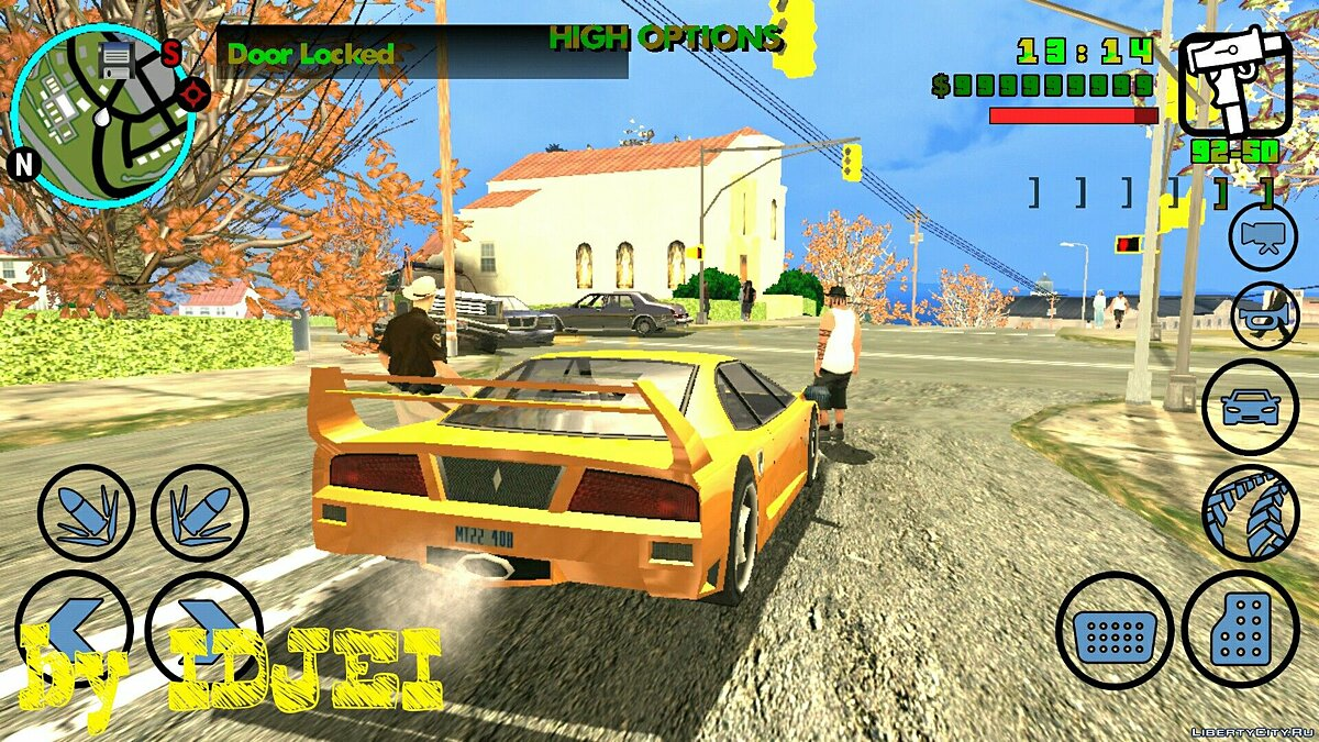 Doors close car для GTA San Andreas (iOS, Android)