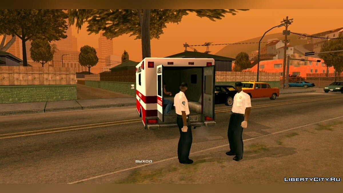 CLEO скрипт After Death Player для GTA San Andreas (iOS, Android)