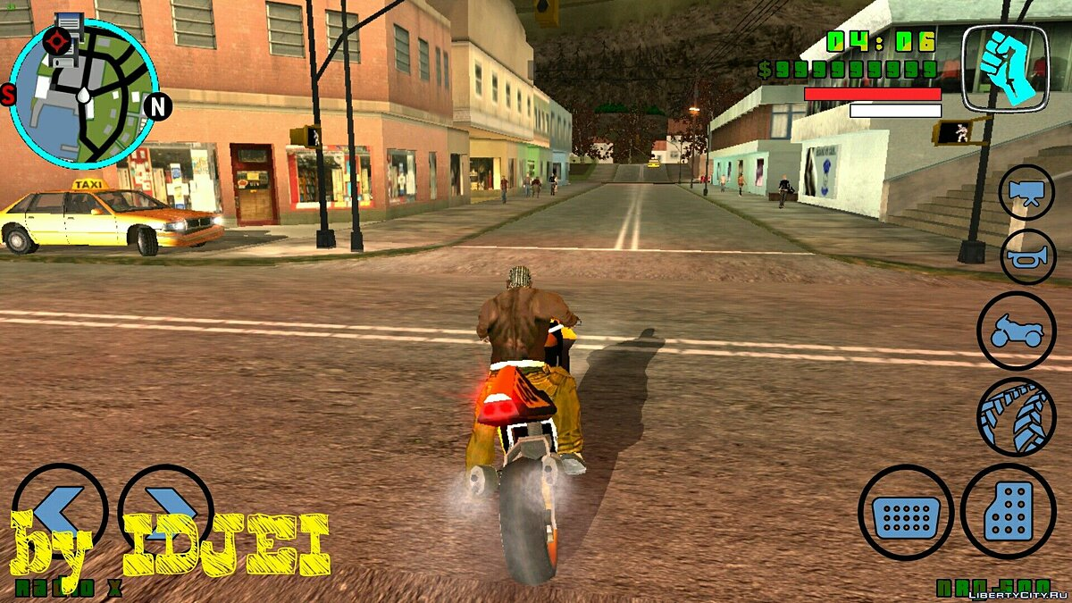 Призвать Nrg500 для GTA San Andreas (iOS, Android)