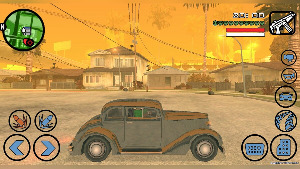 CLEO скрипт Mod Tremer Tela Quando Atira (Android) для GTA San Andreas (iOS, Android)