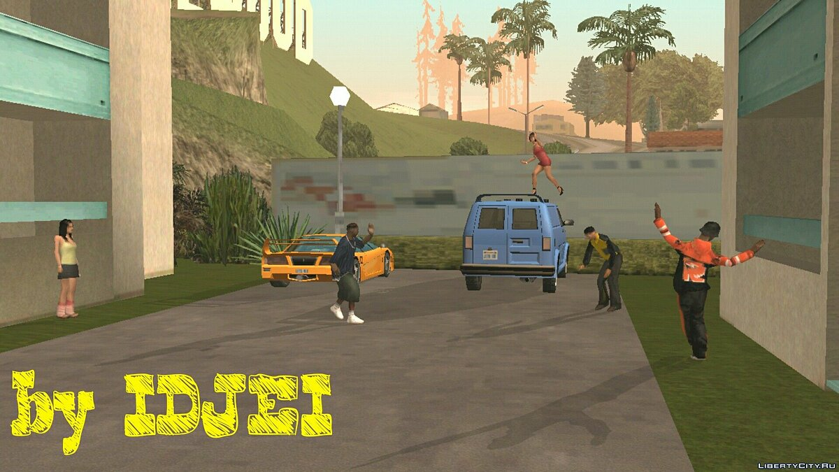 Dance на Малхолланд 1.0 для GTA San Andreas (iOS, Android)