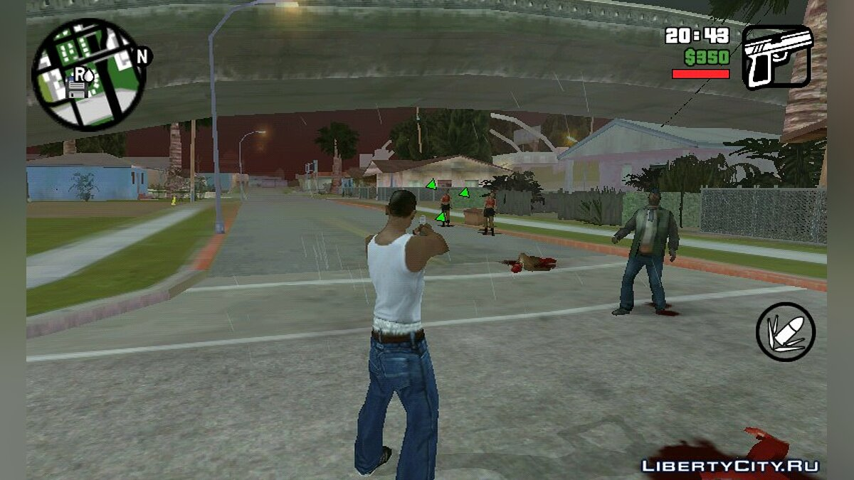 Zombie Mod 0.1 для GTA San Andreas (iOS, Android) - Картинка #1
