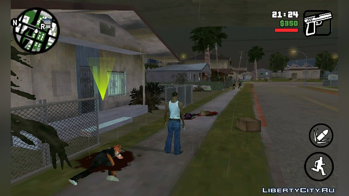 Zombie Mod 0.1 для GTA San Andreas (iOS, Android) - Картинка #2