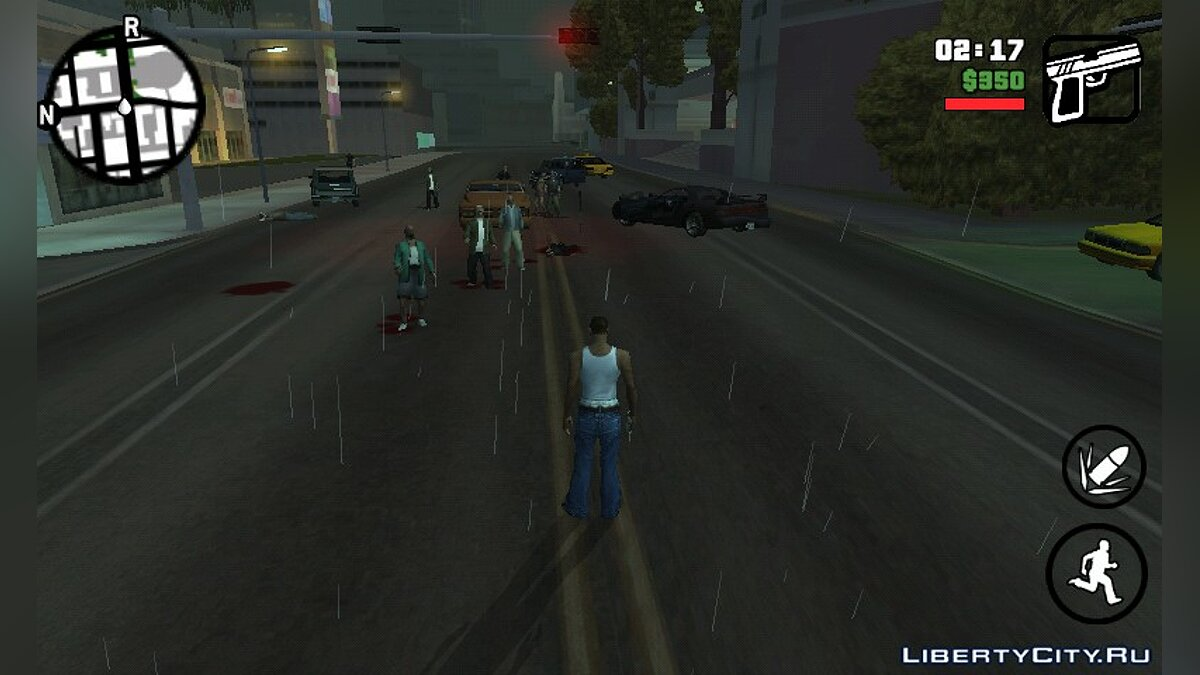 Zombie Mod 0.1 для GTA San Andreas (iOS, Android) - Картинка #5