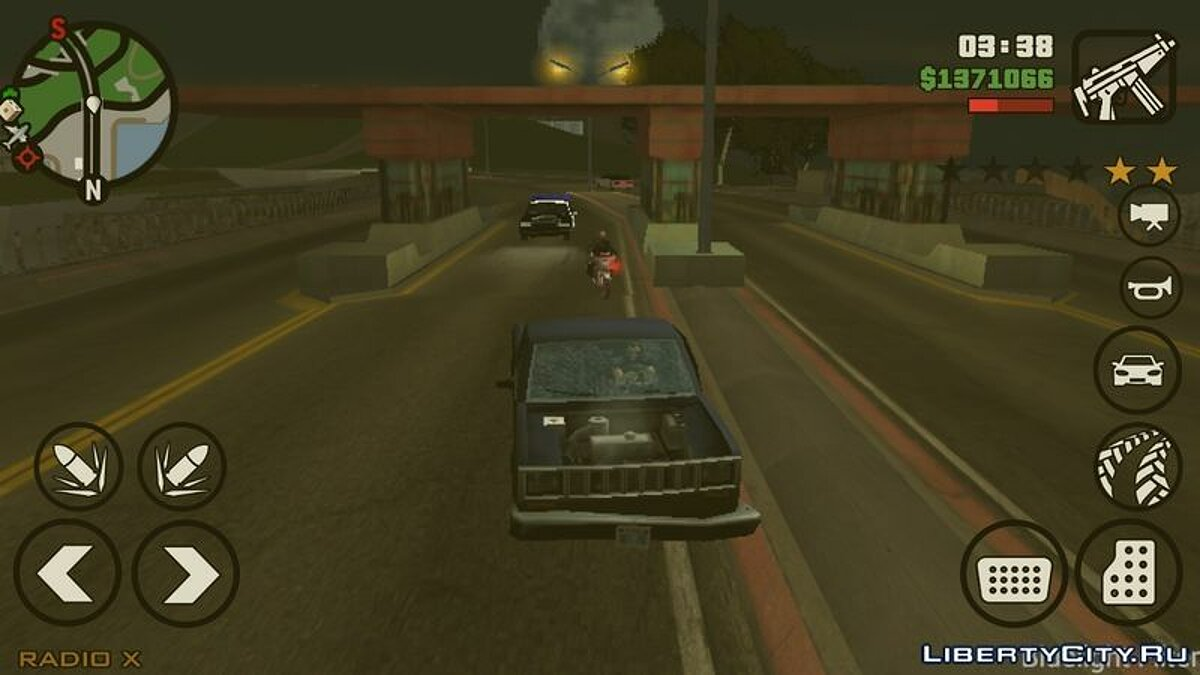 Bridge Pay для GTA San Andreas (iOS, Android)