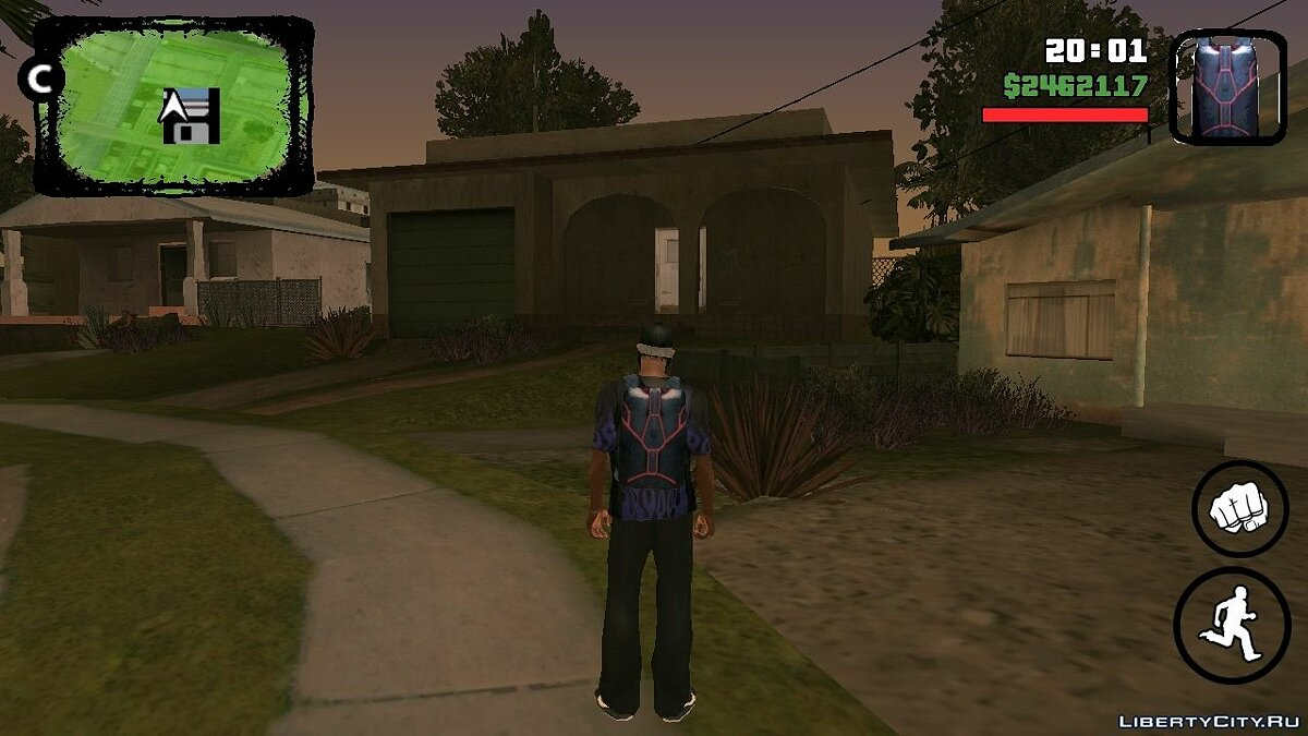 Skyfall для GTA San Andreas (iOS, Android)