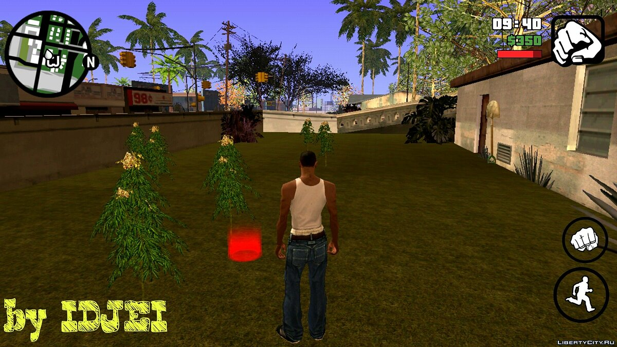 Ganja Ryder (V.2) для GTA San Andreas (iOS, Android)