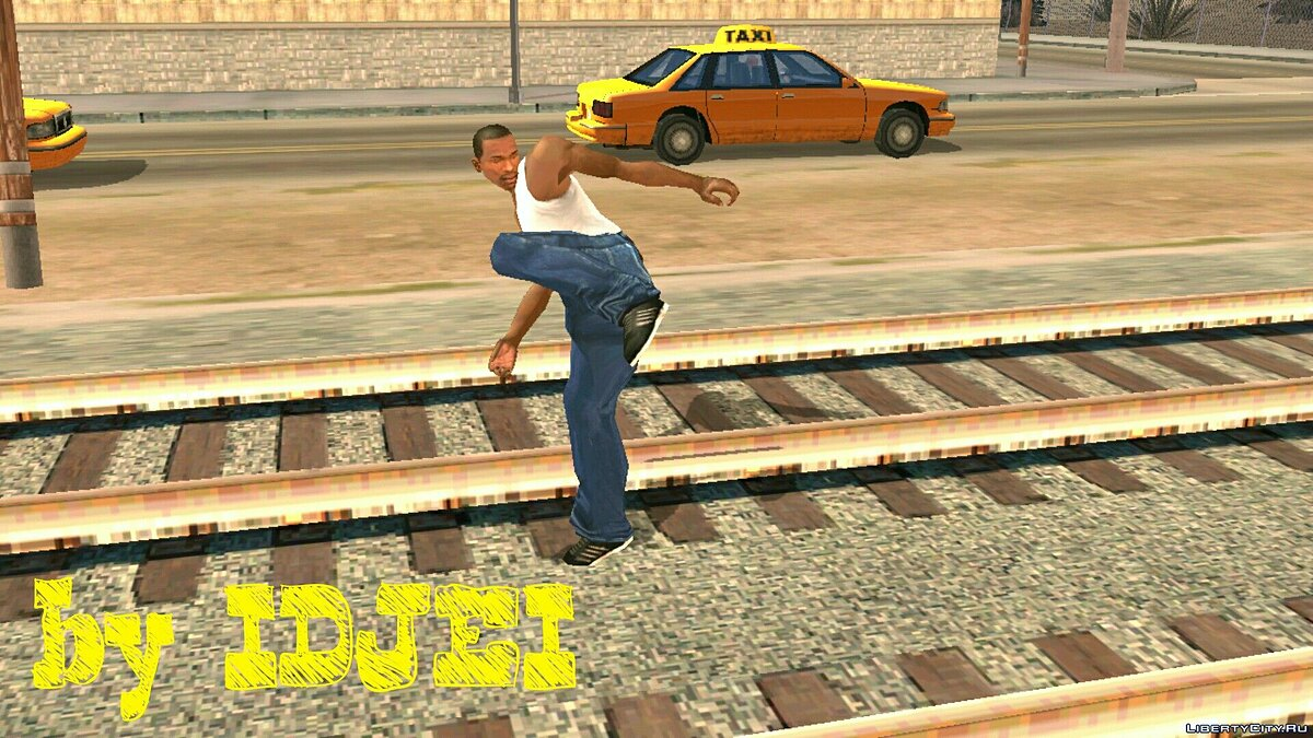 Смешанный бой CJ для GTA San Andreas (iOS, Android)