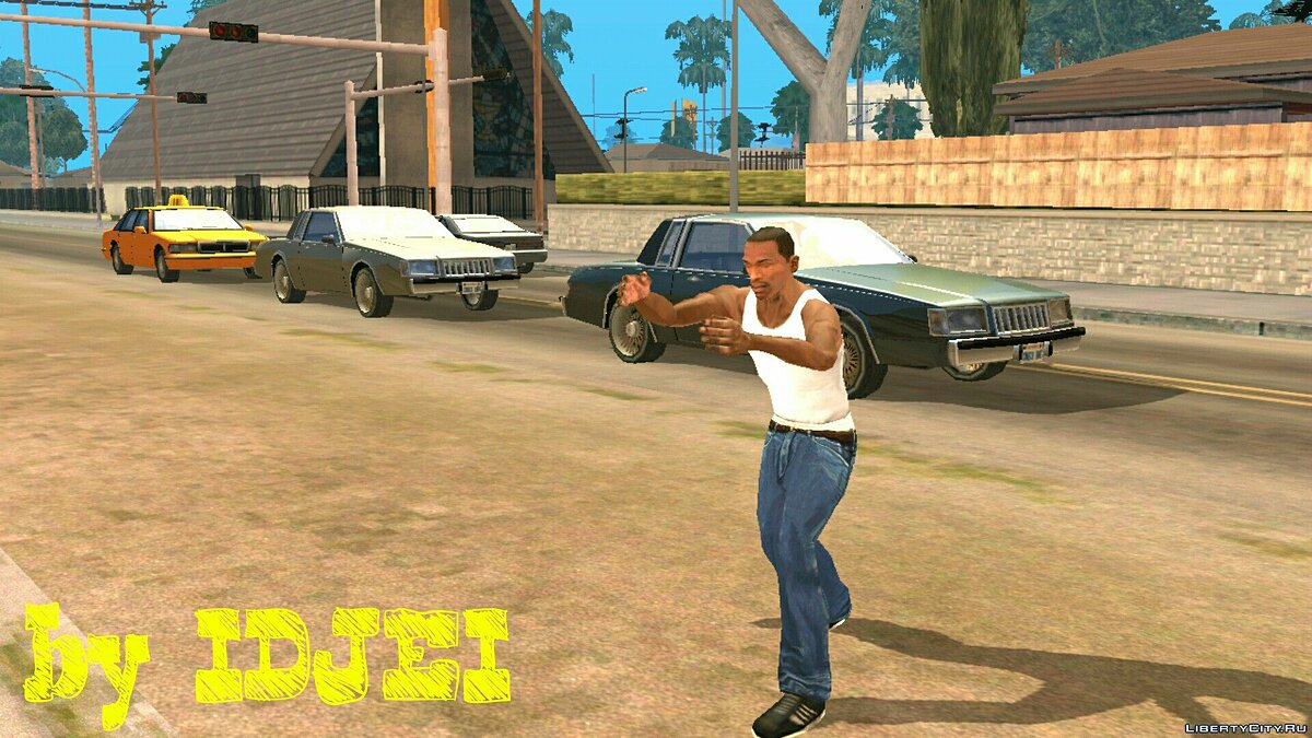 Смешанный бой CJ для GTA San Andreas (iOS, Android) - скриншот #4