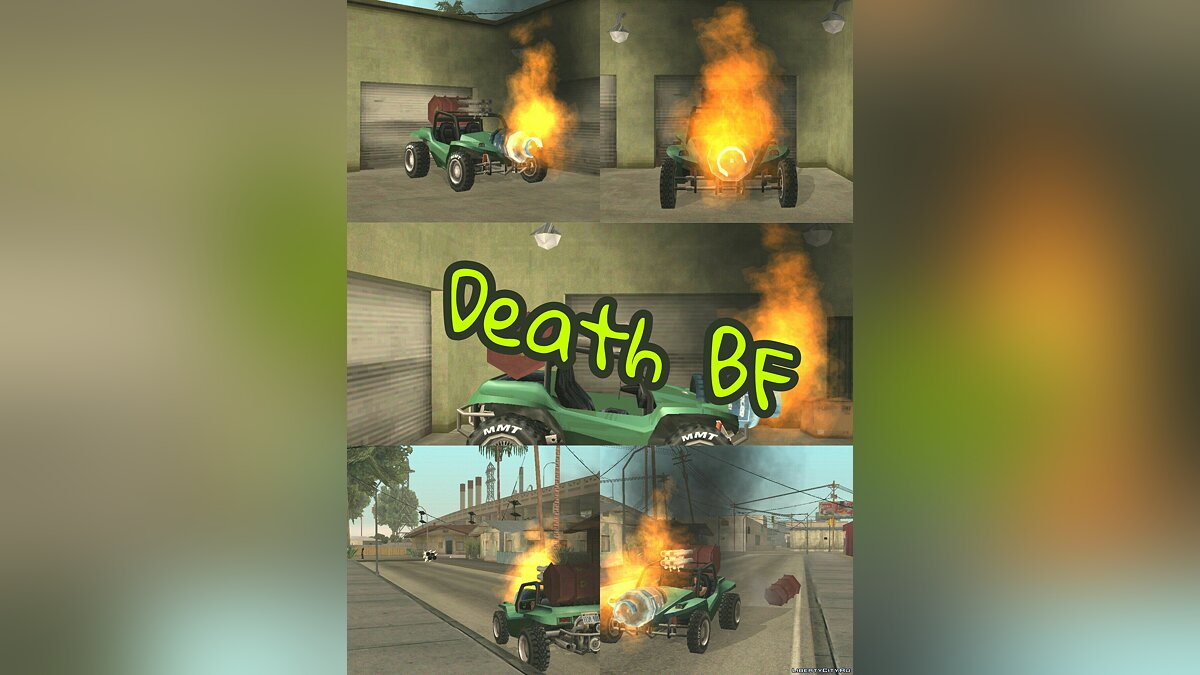 Death BF для GTA San Andreas (iOS, Android)