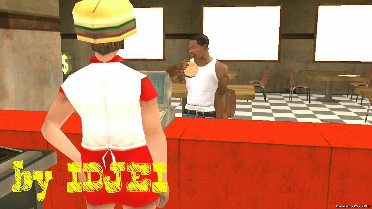 Diner мафии в LS для GTA San Andreas (iOS, Android) - скриншот #2