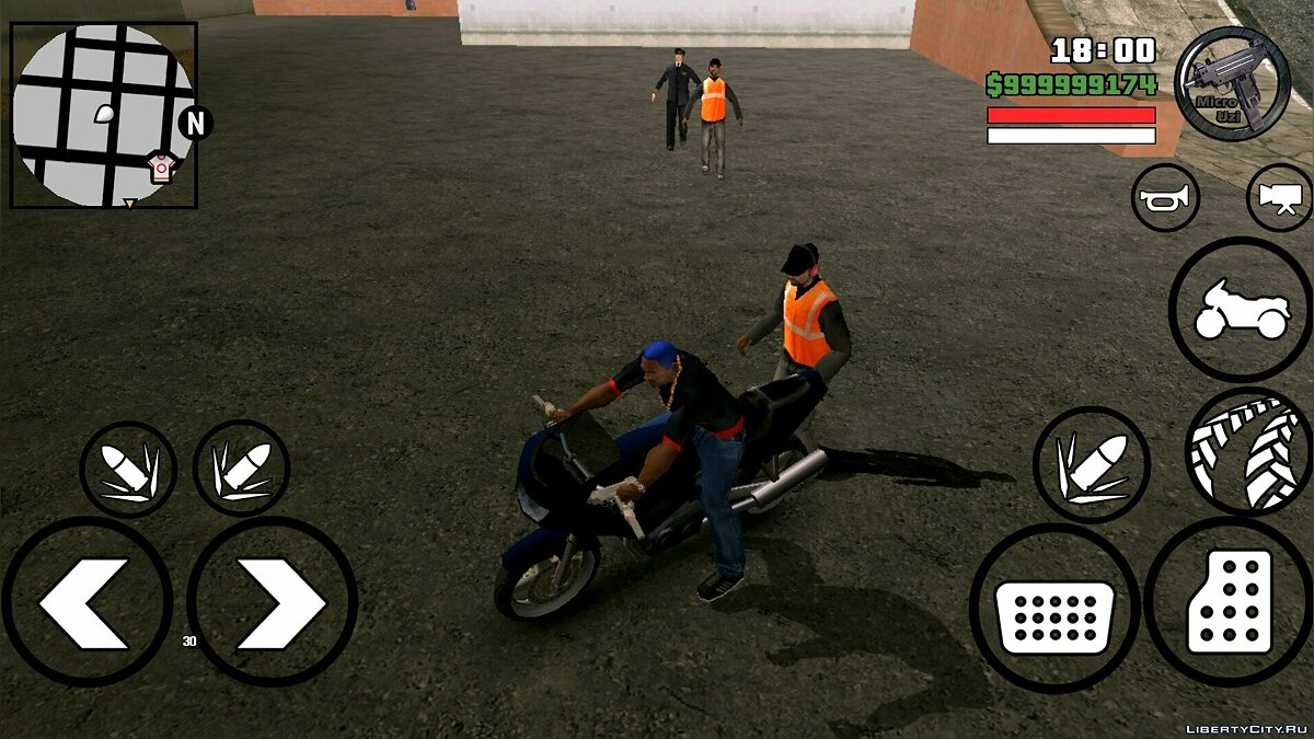 CLEO скрипт The Walking Dead для GTA San Andreas (iOS, Android)