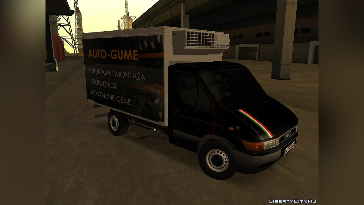Машина Iveco Iveco Daily Mk2 Transporter для GTA San Andreas