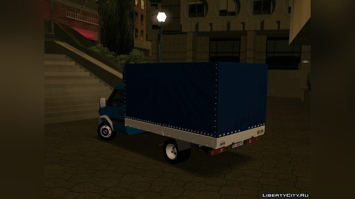 Машина Iveco Iveco Daily Mk4 35T для GTA San Andreas