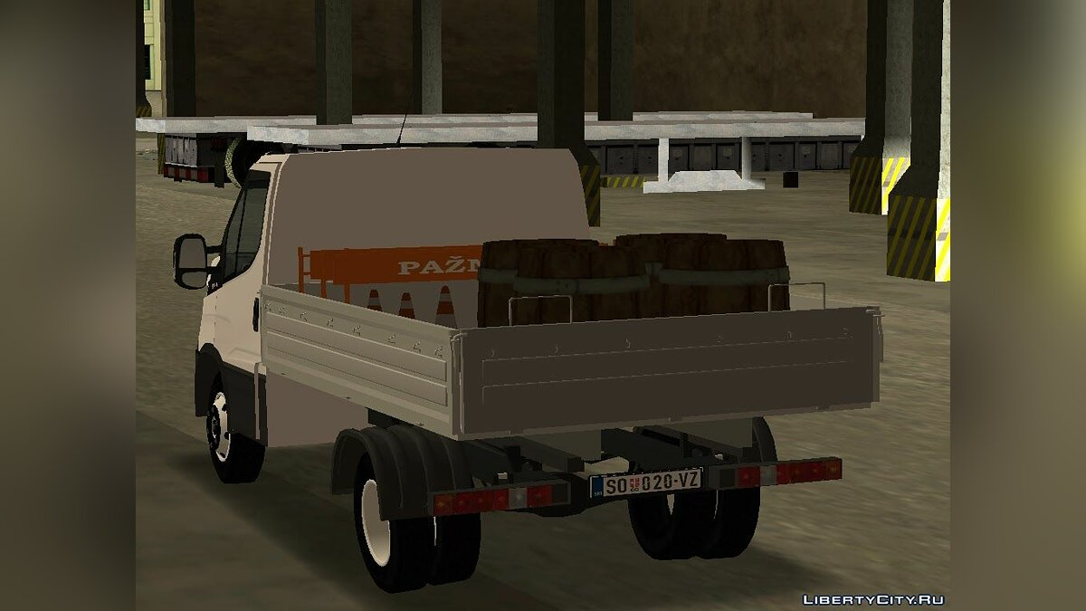 Машина Iveco Iveco Daily 2014 для GTA San Andreas