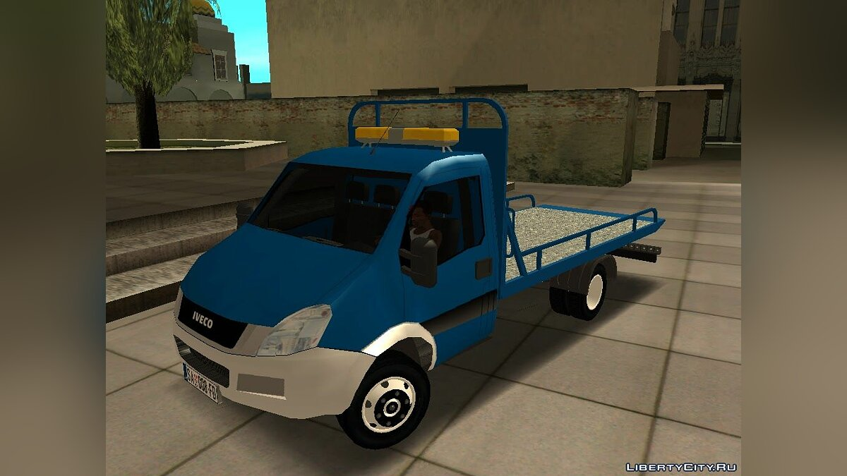 Машина Iveco Iveco Daily Mk4 Transporter для GTA San Andreas