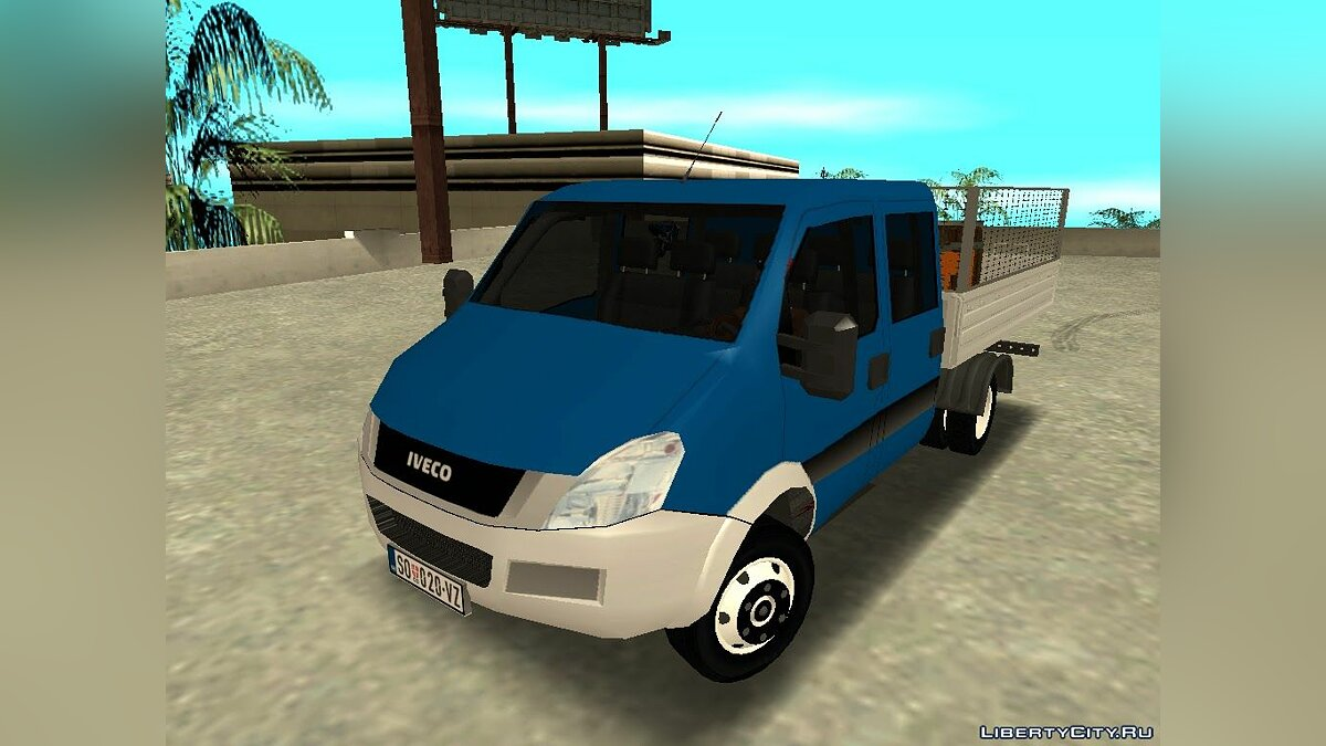Машина Iveco Iveco Daily Mk4 для GTA San Andreas