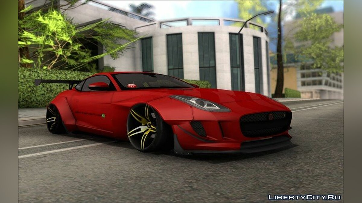 Jaguar F-Type L3D Store Edition для GTA San Andreas - скриншот #6