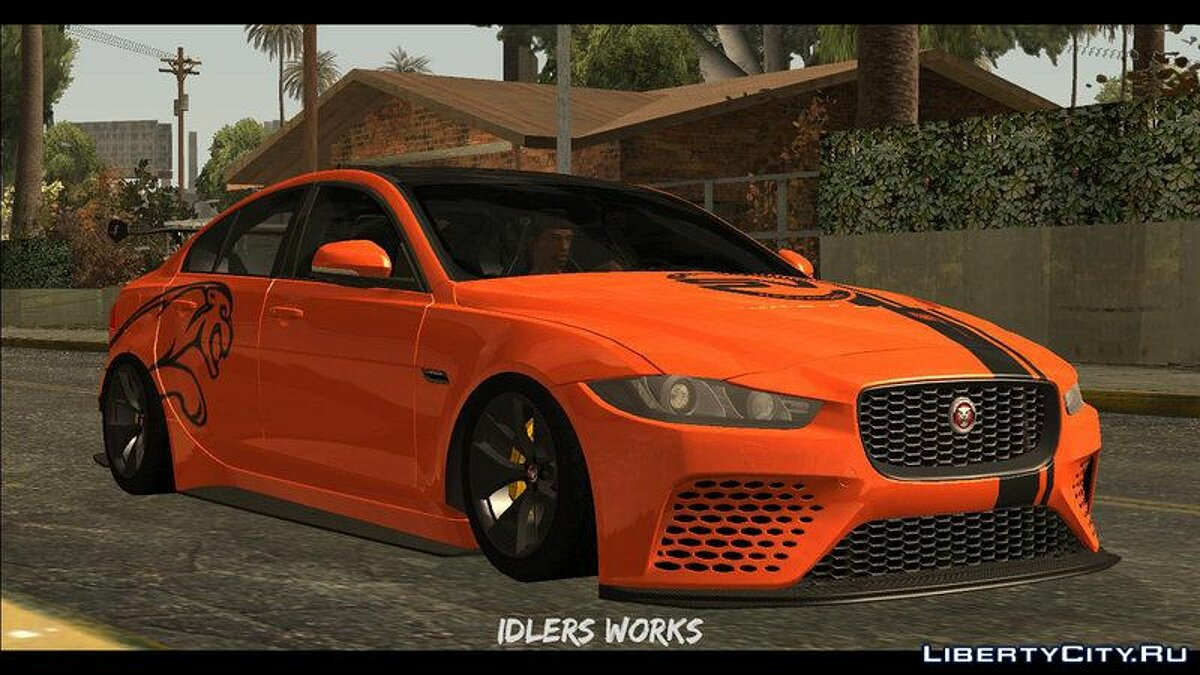 Машина Jaguar 2017 Jaguar XE SV Project 8 для GTA San Andreas