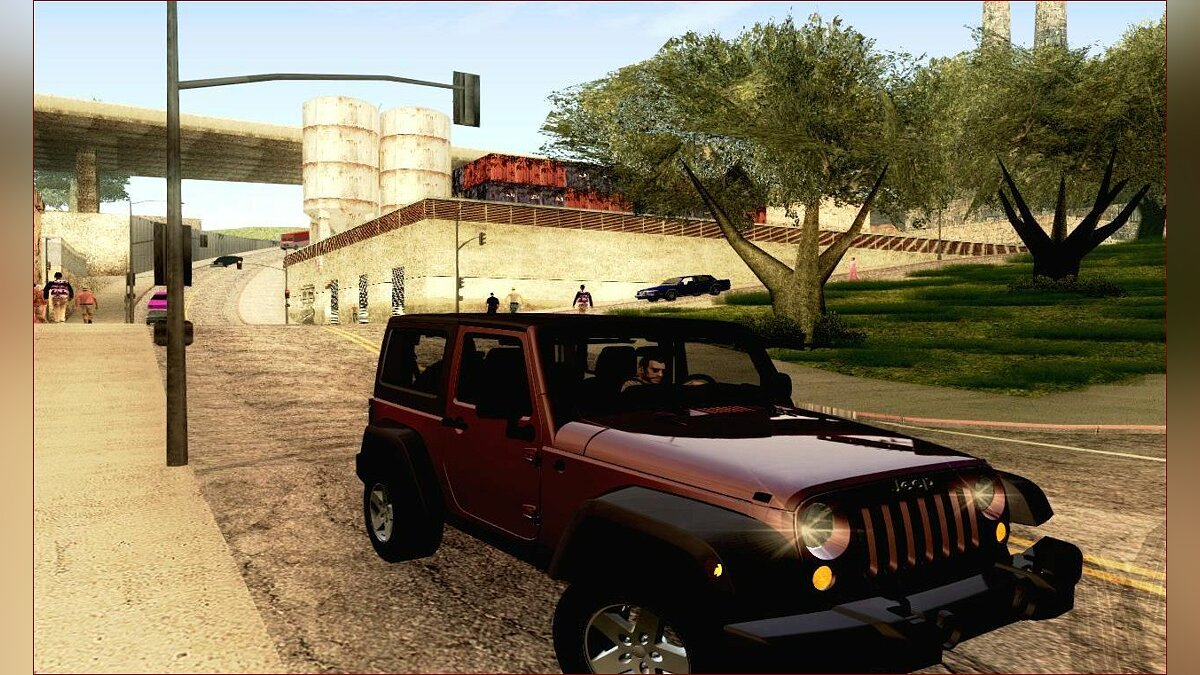 2012 Jeep Wrangler Rubicon 2012 для GTA San Andreas