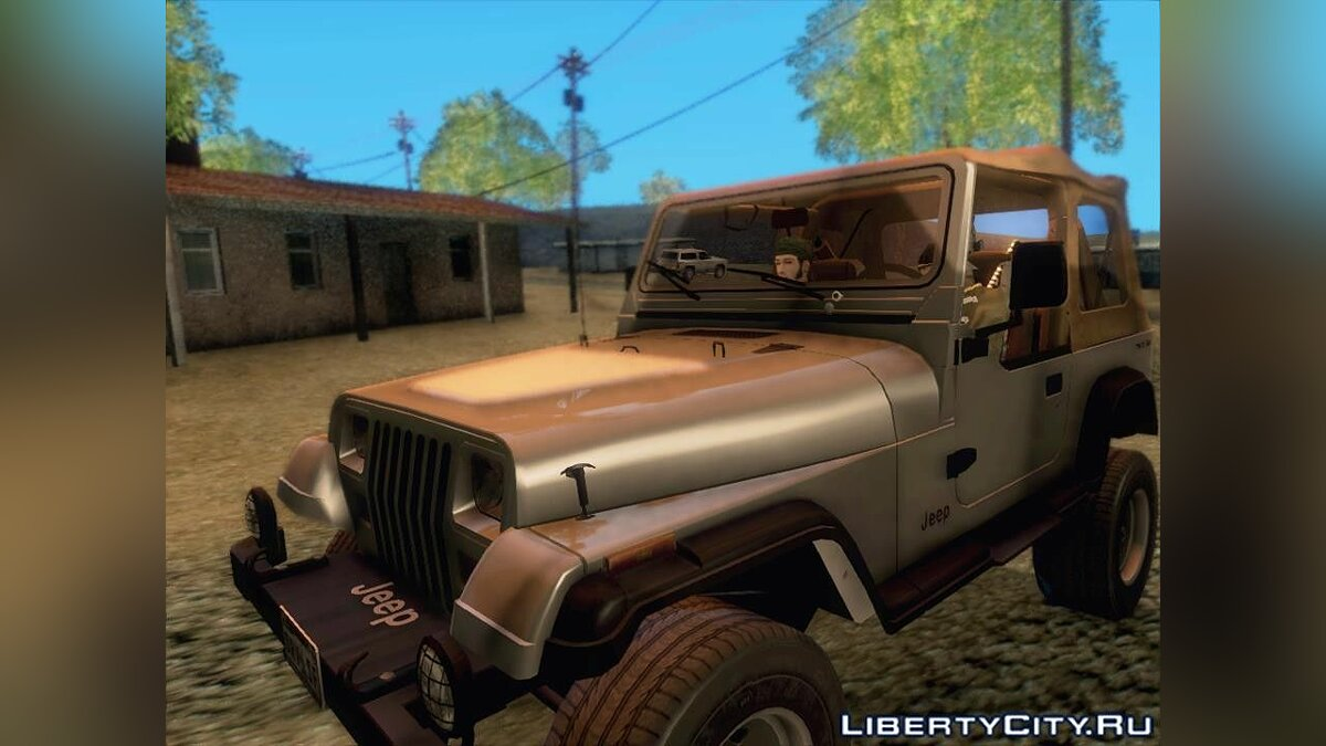 Jeep Wrangler 1994 для GTA San Andreas