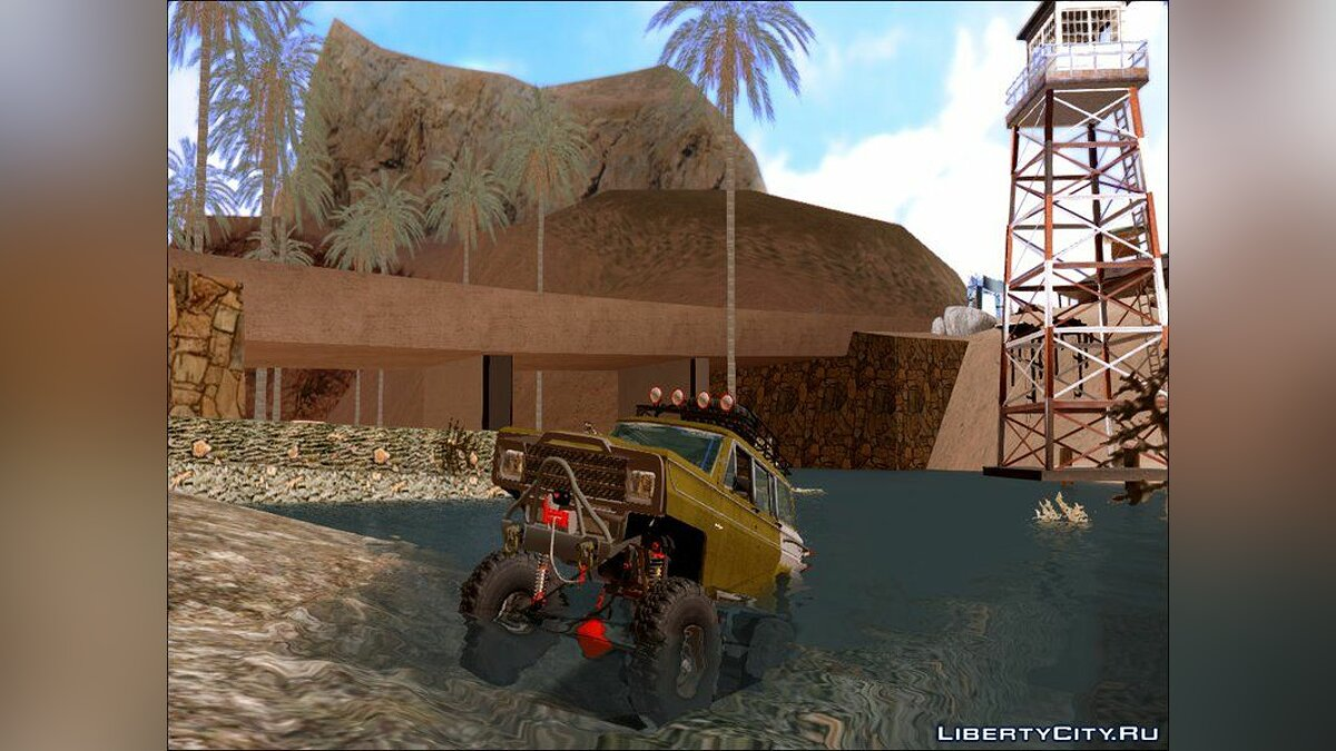 Jeep Wagonner Off Road для GTA San Andreas - скриншот #6