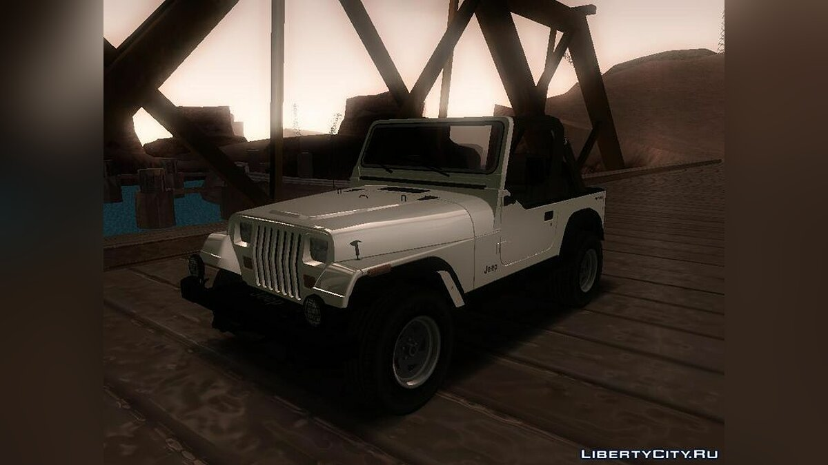 Jeep Wrangler для GTA San Andreas - скриншот #2