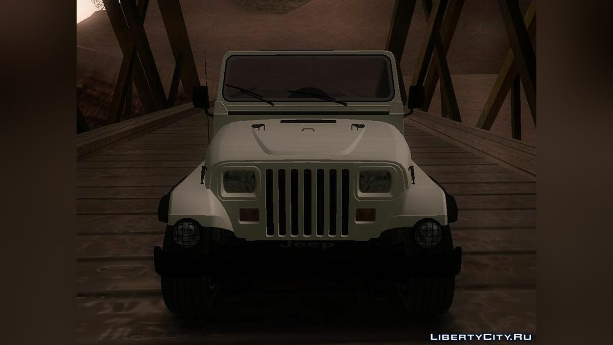 Jeep Wrangler для GTA San Andreas - скриншот #3