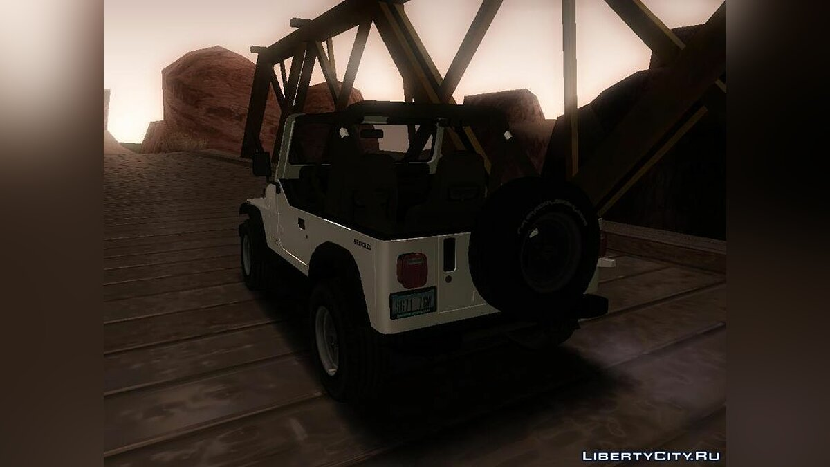 Jeep Wrangler для GTA San Andreas - скриншот #4