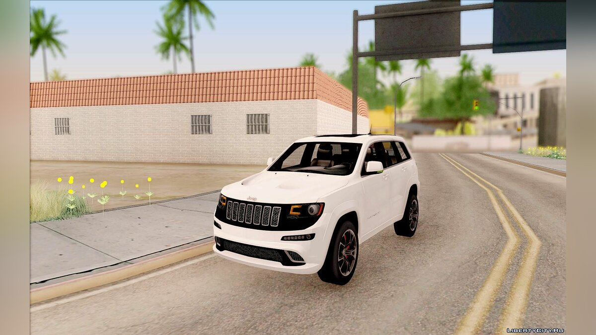 2014 Jeep Grand Cherokee SRT8 для GTA San Andreas