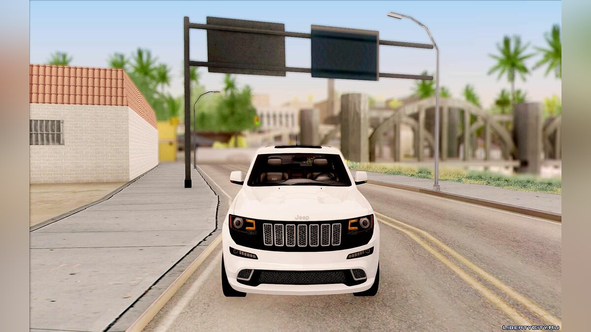 2014 Jeep Grand Cherokee SRT8 для GTA San Andreas - скриншот #2