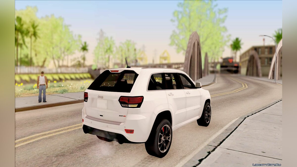 2014 Jeep Grand Cherokee SRT8 для GTA San Andreas - скриншот #3