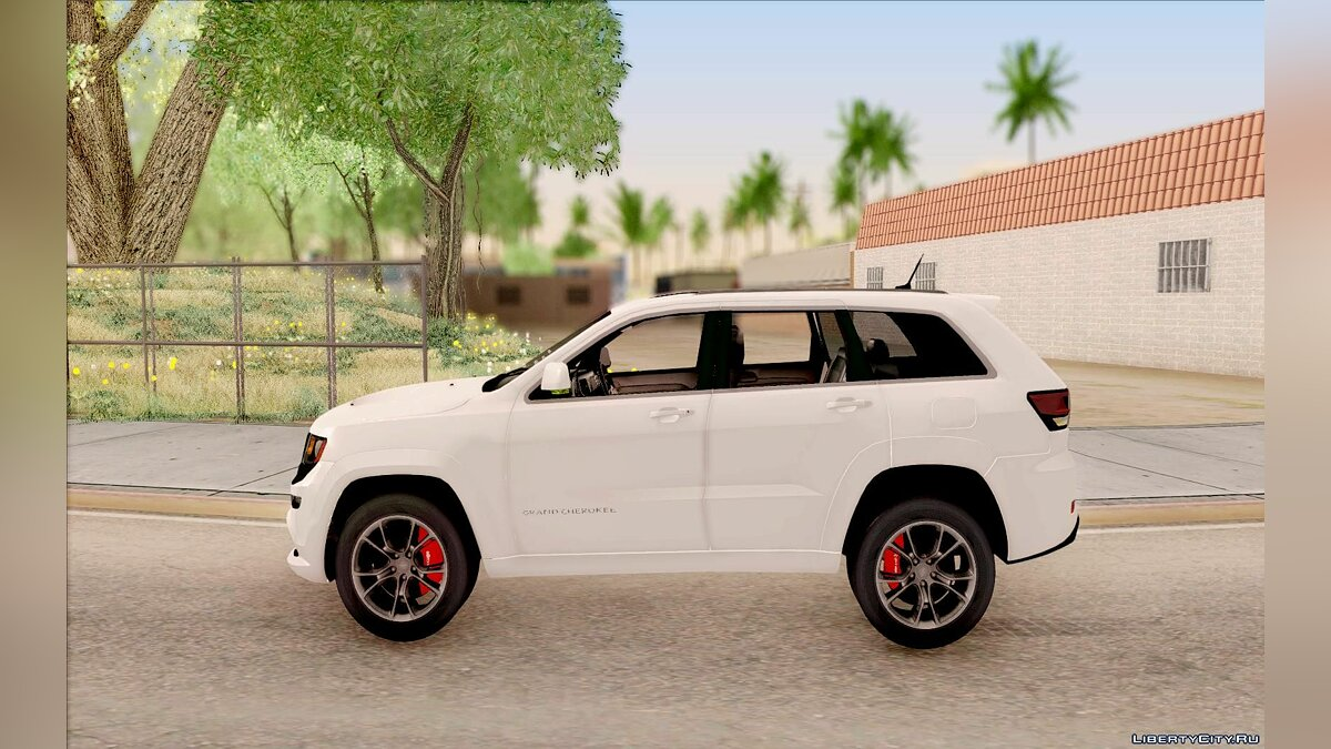 2014 Jeep Grand Cherokee SRT8 для GTA San Andreas - скриншот #4
