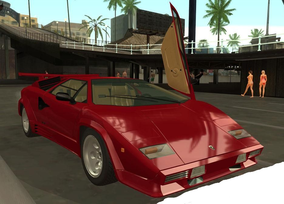 lamborghini countach lp500 qv 1988 v1 0 gta san andreas. Black Bedroom Furniture Sets. Home Design Ideas