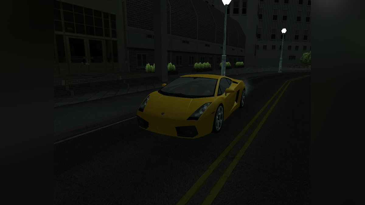 Lamboghini Gallardo для GTA San Andreas