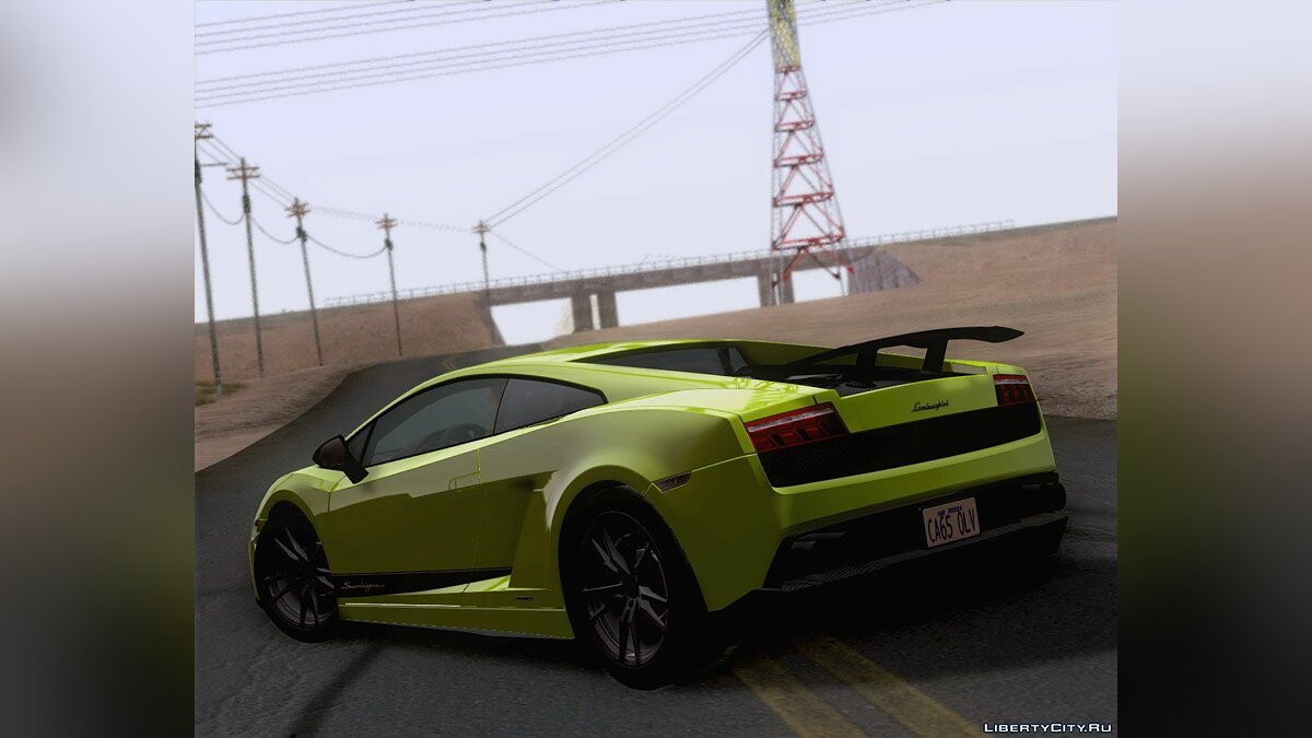 Lamborghini Gallardo LP570-4 Superleggera 2011 для GTA San Andreas - Картинка #2