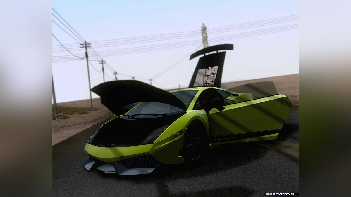 Lamborghini Gallardo LP570-4 Superleggera 2011 для GTA San Andreas - Картинка #6