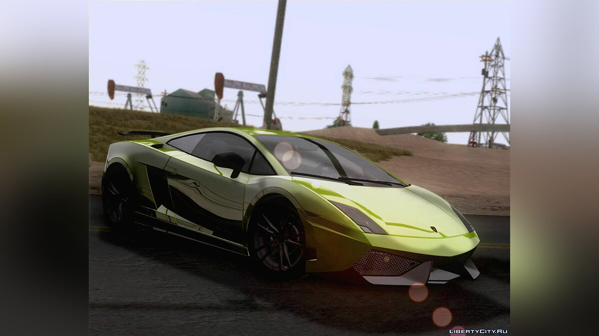 Lamborghini Gallardo LP570-4 Superleggera 2011 для GTA San Andreas - Картинка #5