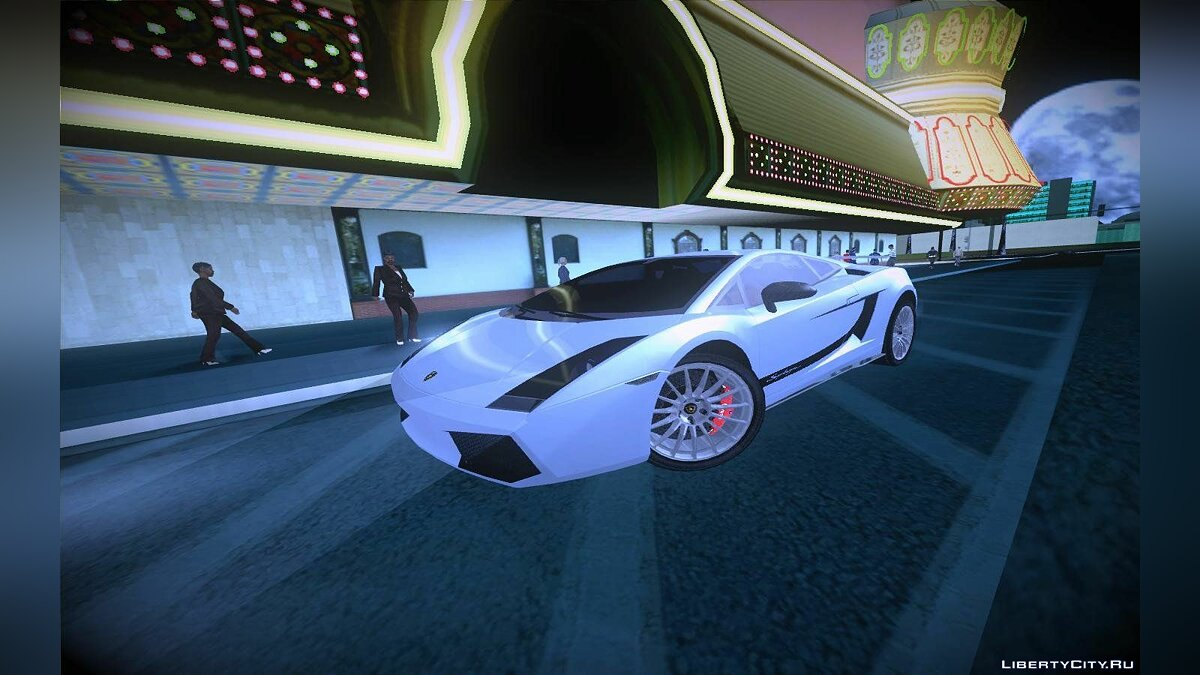 2007 Lamborghini Gallardo Superleggera для GTA San Andreas