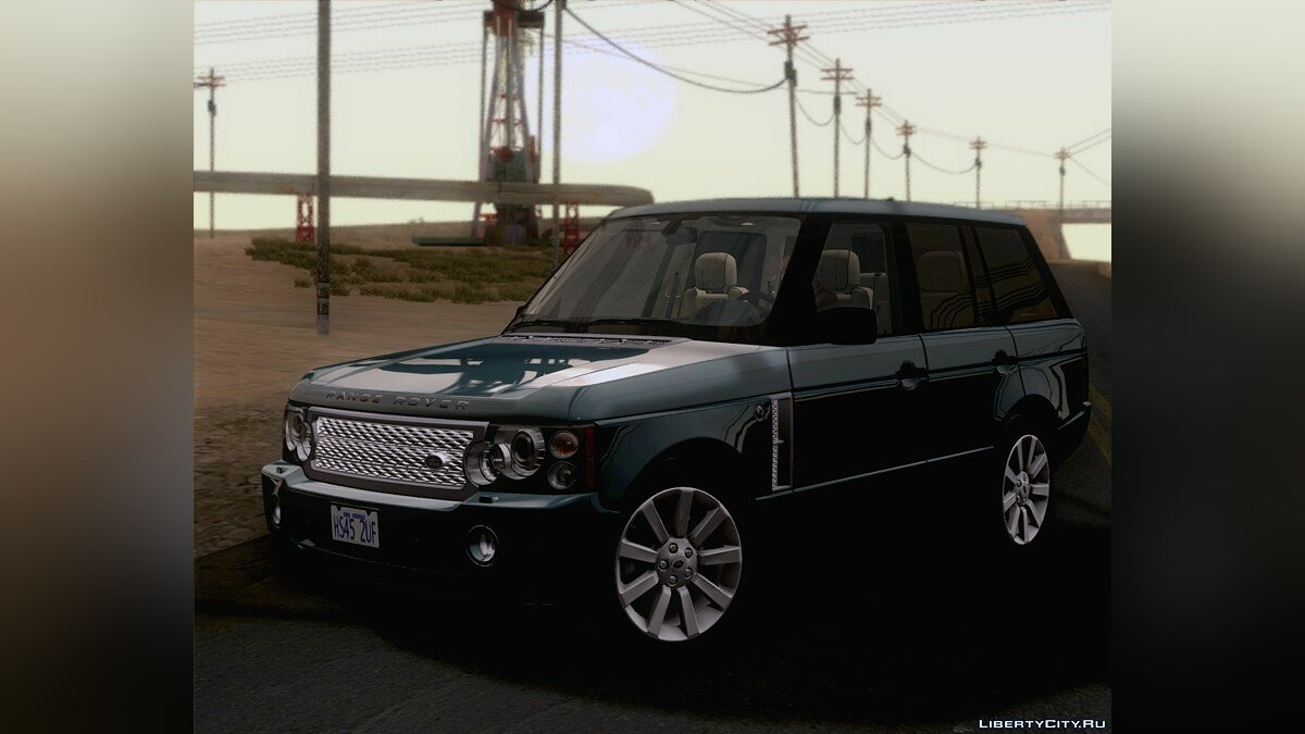 Land Rover Range Rover Supercharged 2008 для GTA San Andreas