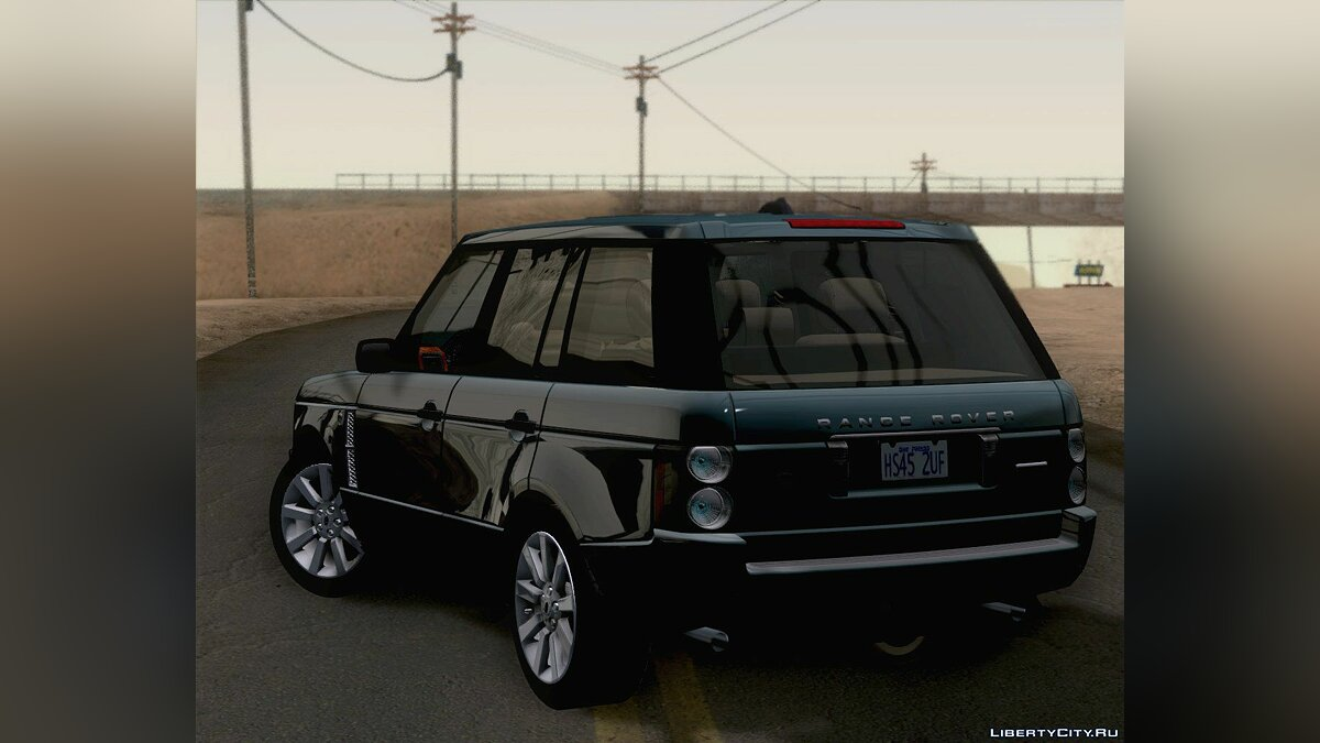 Land Rover Range Rover Supercharged 2008 для GTA San Andreas - скриншот #8