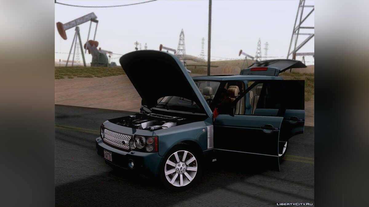 Land Rover Range Rover Supercharged 2008 для GTA San Andreas - скриншот #3