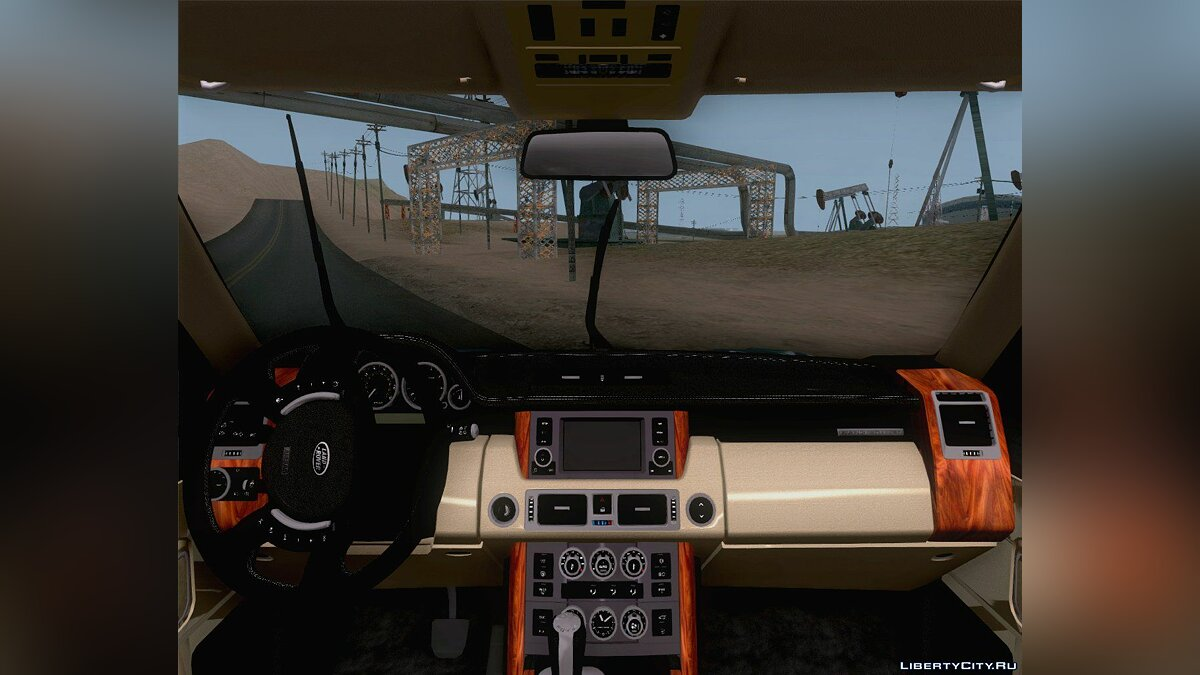 Land Rover Range Rover Supercharged 2008 для GTA San Andreas - скриншот #6