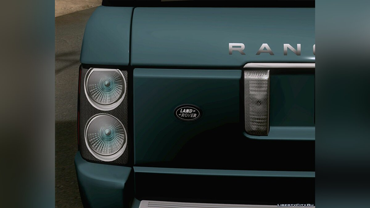 Land Rover Range Rover Supercharged 2008 для GTA San Andreas - скриншот #2