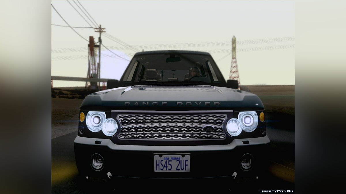Land Rover Range Rover Supercharged 2008 для GTA San Andreas - скриншот #5