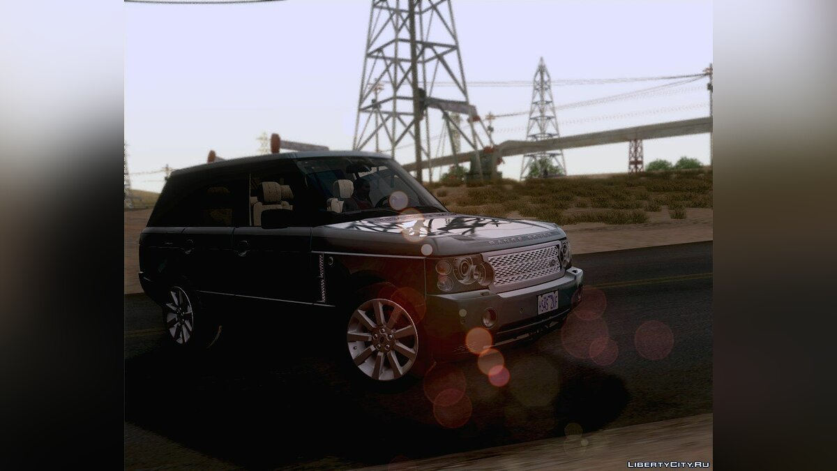 Land Rover Range Rover Supercharged 2008 для GTA San Andreas - скриншот #7