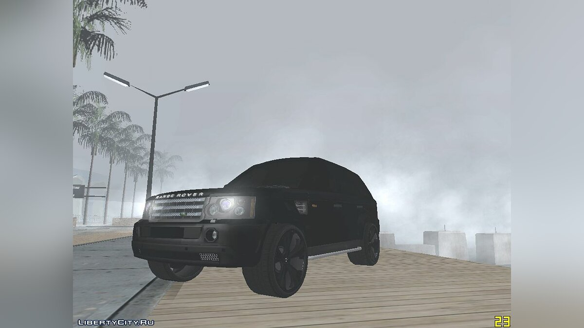 Range Rover Huntley для GTA San Andreas