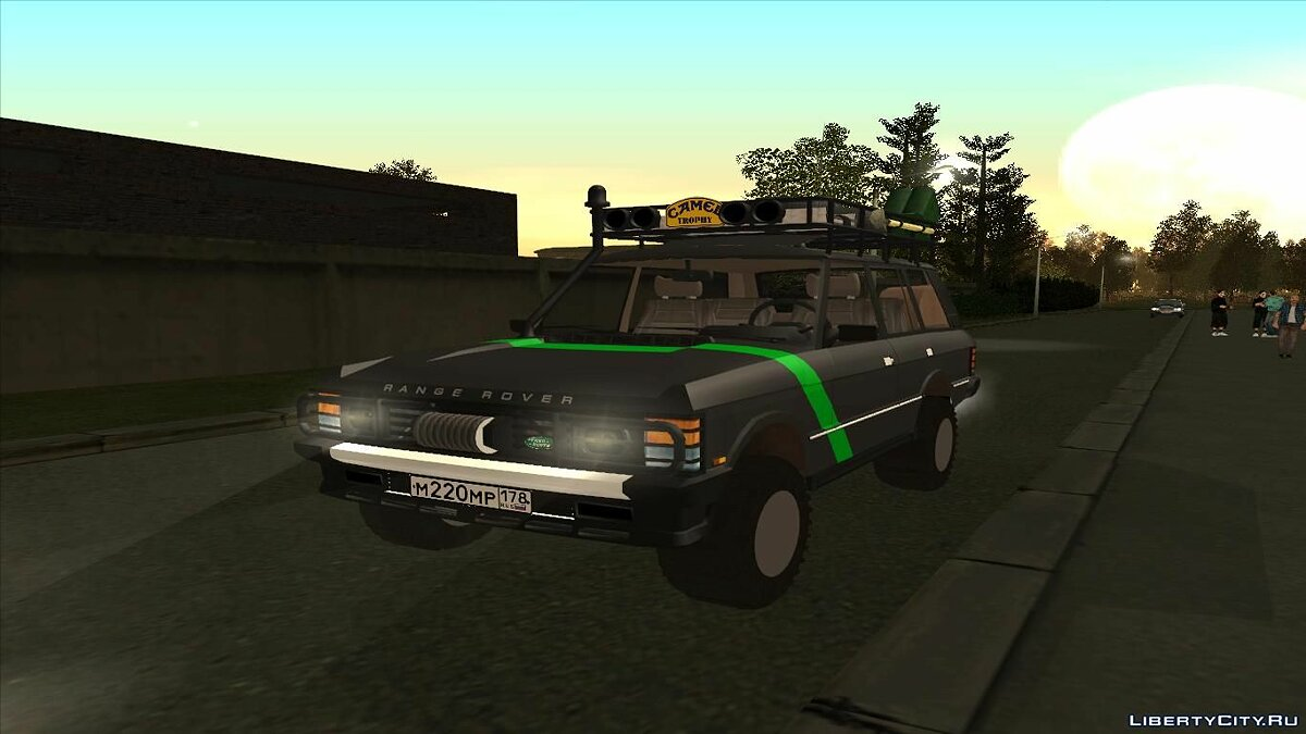 Range Rover Country Classic Offroad для GTA San Andreas